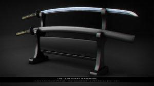 3d fantasy masamune 512 model
