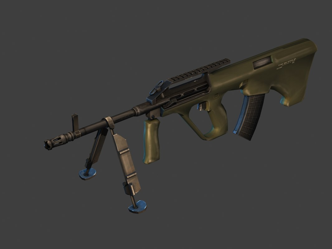 3ds max rifle steyr