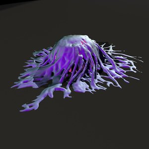 cancer cell 3d max