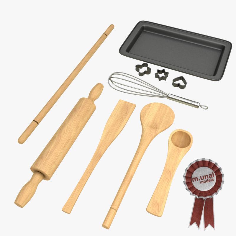 3d model baking tools