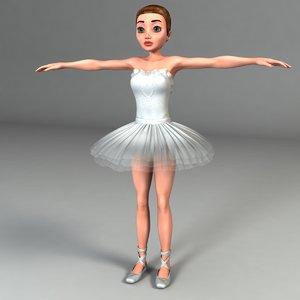 ballerina body suit 3ds