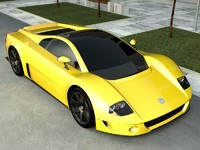 3ds concept car volkswagen w12