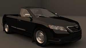 3ds max hilux camry mex