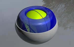 powerball power ball 3d c4d