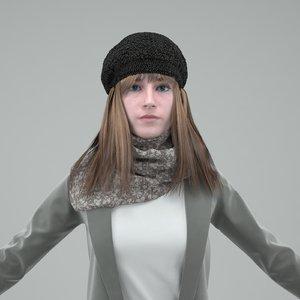 digital double mentalray 3d model