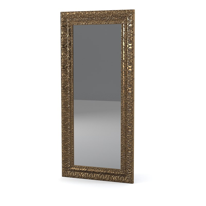 3ds max mirror engraved