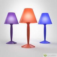 3ds max miss sissi table lamp