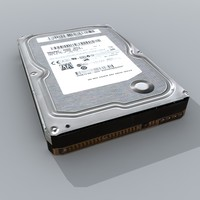 3d model generic internal hdd hard