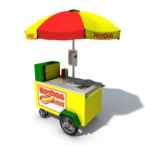 maya hot dog cart