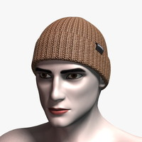 3d model nixon regain beanie