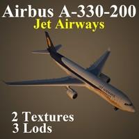 airbus jet jai 3d model