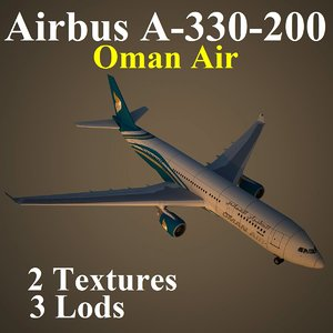 airbus oman oma 3d model
