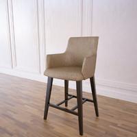 3d model vintage bar stool