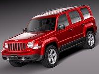 3d 2013 2014 suv jeep model
