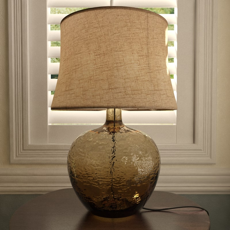 pottery barn clift table lamp max