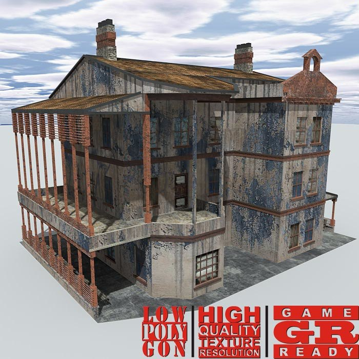 weathered house games max