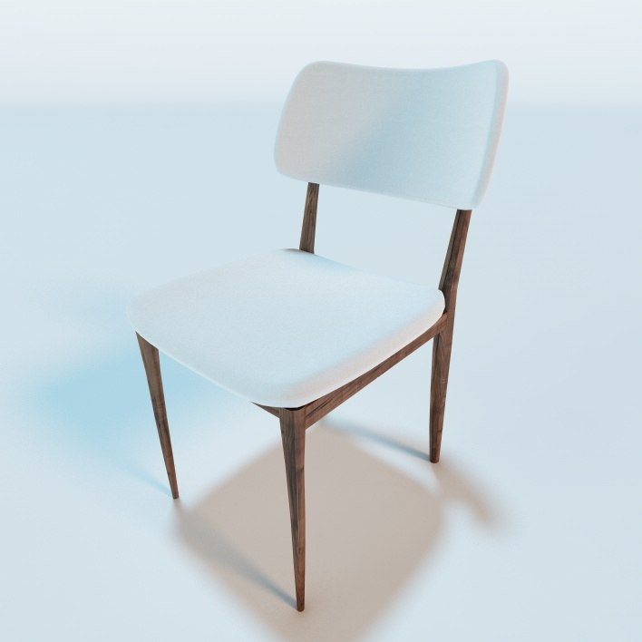 c4d nissa dining chair