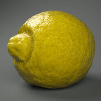 lemon 3d model