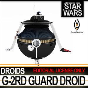 star wars g-2rd guard c4d