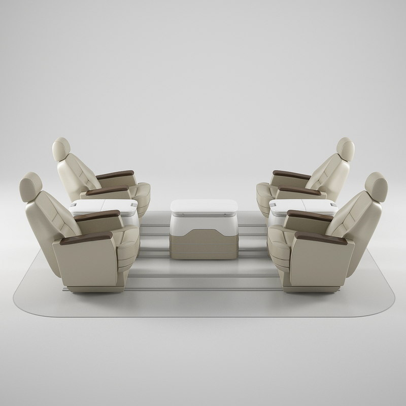 3ds vip airplane business seats