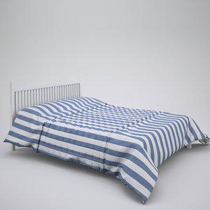 3d max duvet standard double bed