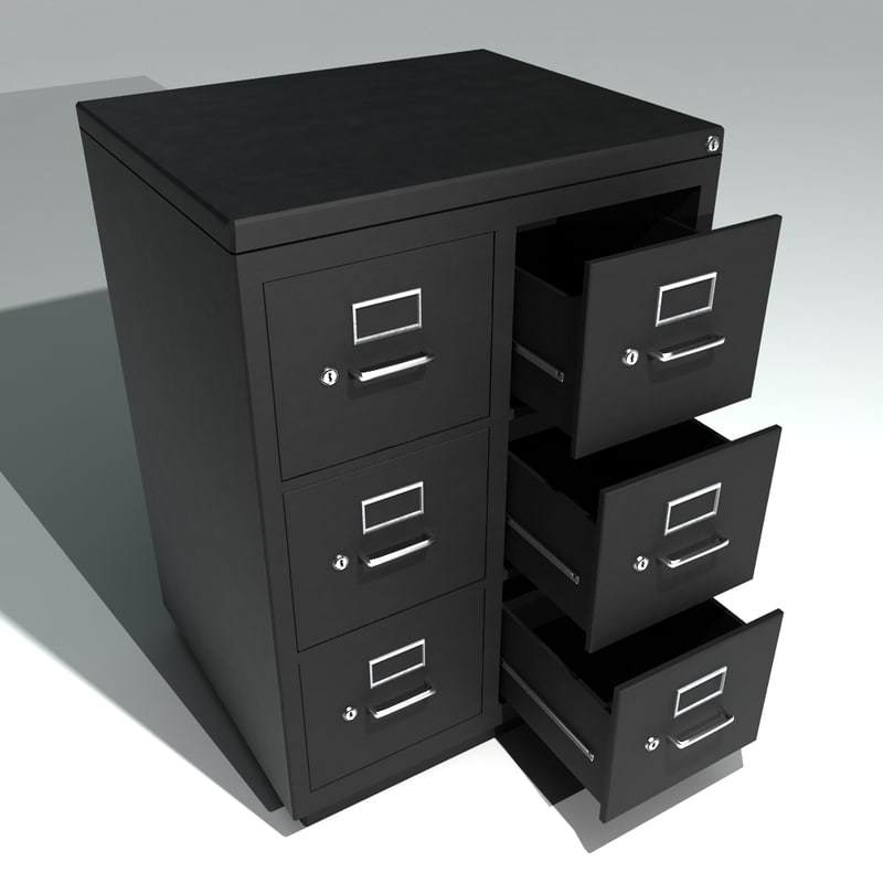 Bon Double Metal Filing Cabinet