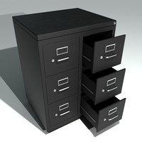 Double Metal Filing Cabinet