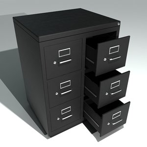 3ds max filing cabinets