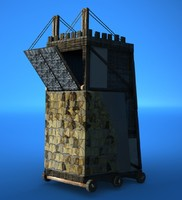 3d siege tower