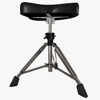 3d double drum throne seat