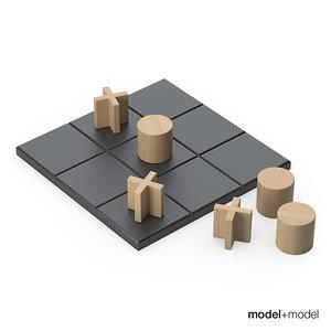 3d tic-tac-toe set