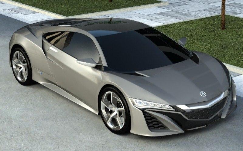 3d model acura nsx 2013 car