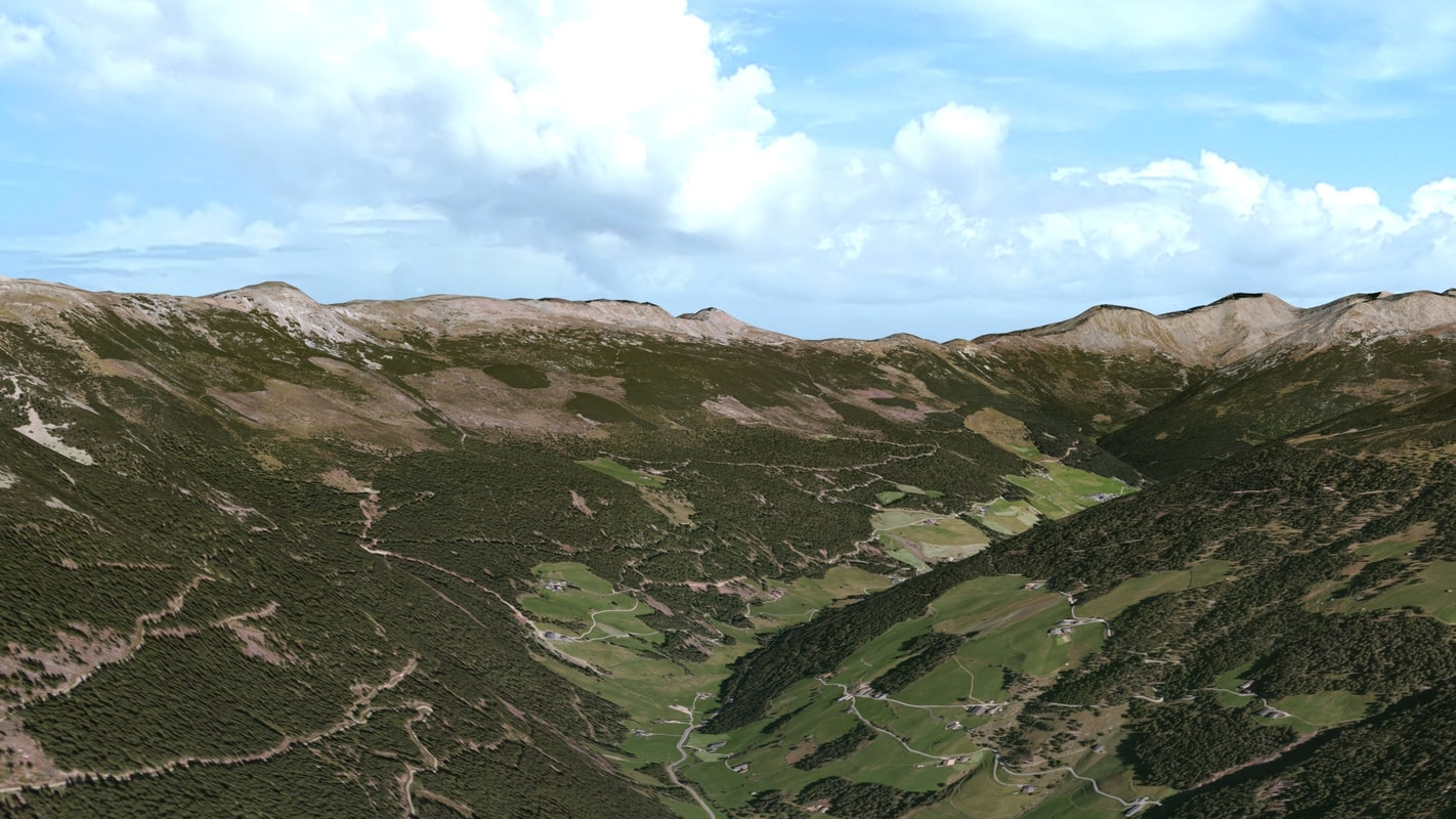 3ds max mountain alps