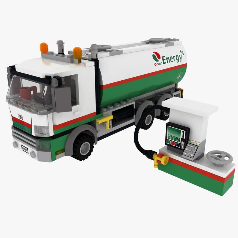 obj lego oil tanker
