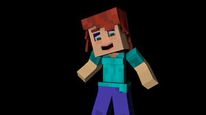 minecraft rig voidanimationz female c4d