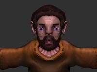 free human man 3d model