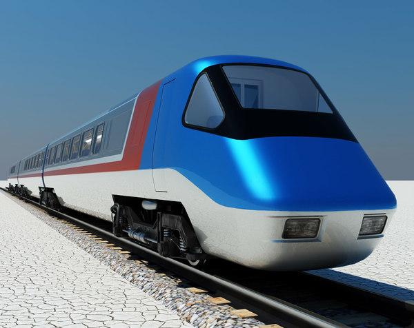 3dsmax modern british rail class