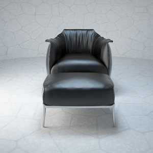 3d archibald chair model