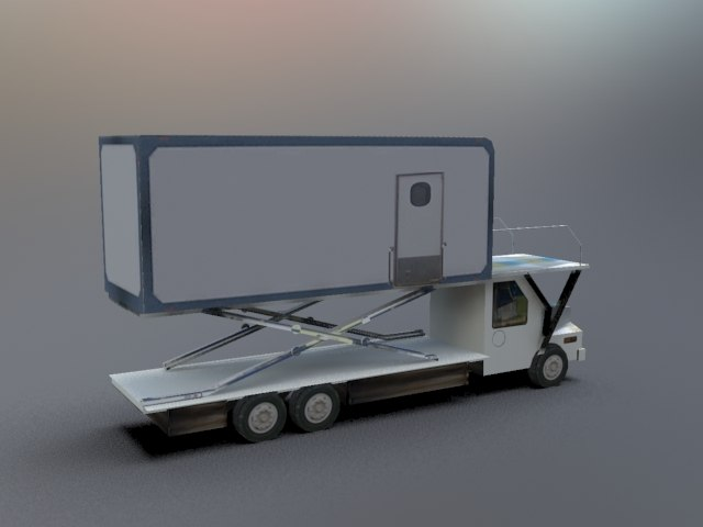 3ds catering truck