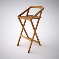 7 bar stool fbx