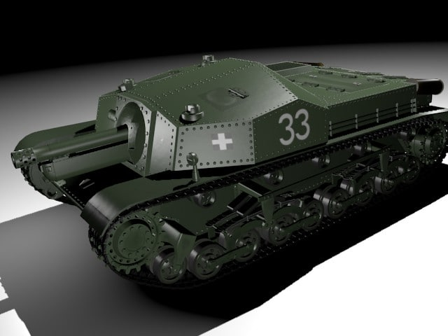 ii assault gun zrinyi 3ds