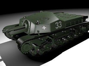 ii assault gun zrinyi 3ds