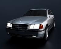 w202 c-class 3d model