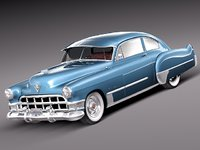 Cadillac 1949 Sedanette series 62 coupe