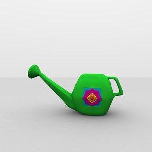 free 3ds model garden watering