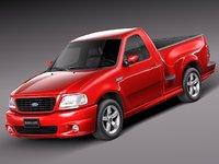 v8 sport 1999 pickup 3d max