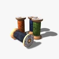 3dsmax cotton reels