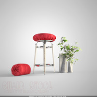 chair stool 3d model