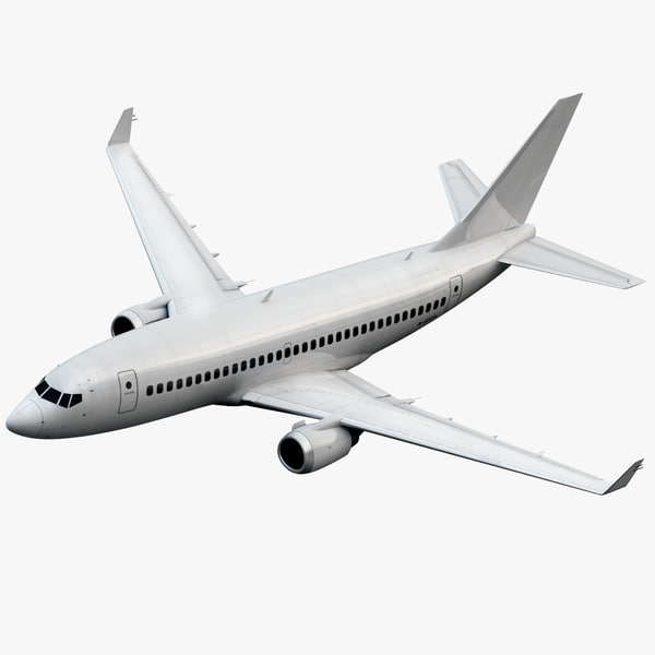 3d plane airplane generic model