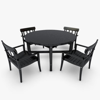 Garden Set (Table - Chairs)